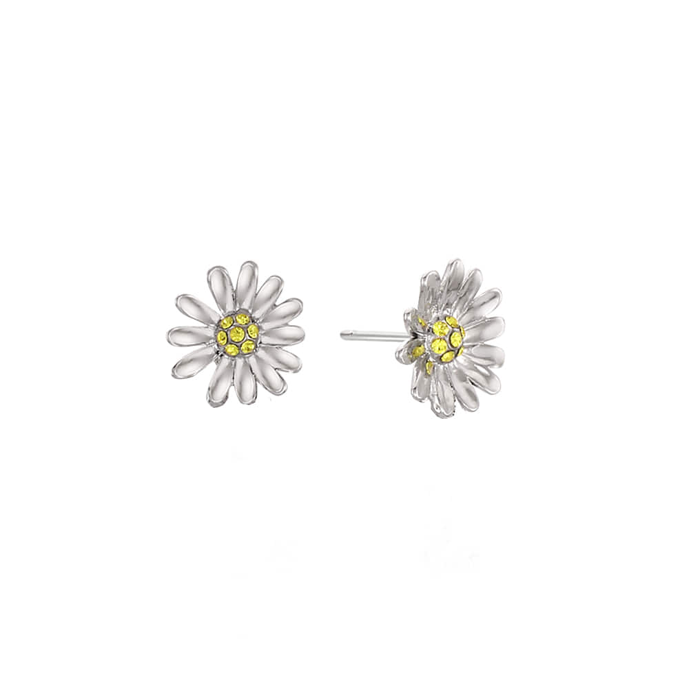 Mini Daisy Post Earring