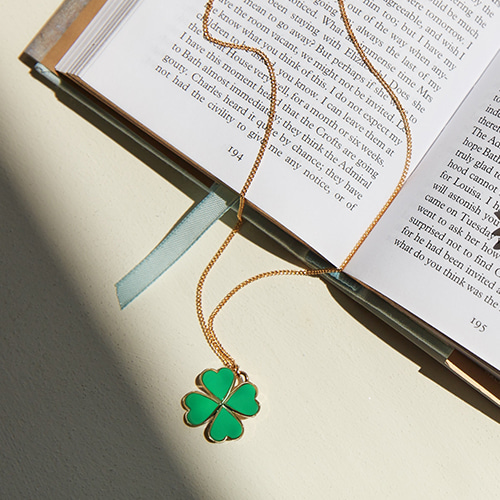 I'm Lucky Clover Necklace