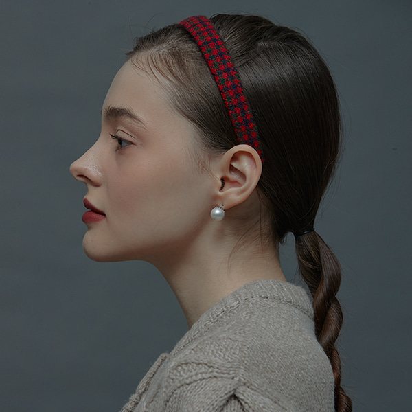 [주문제작,주문폭주]Carrie Slim Hairband_4Color