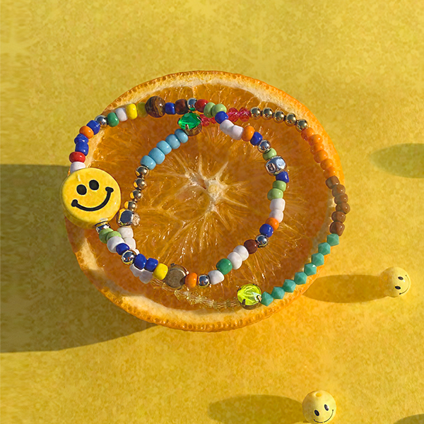 [세정 착용][SET] Cool Summer Beads Bracelet