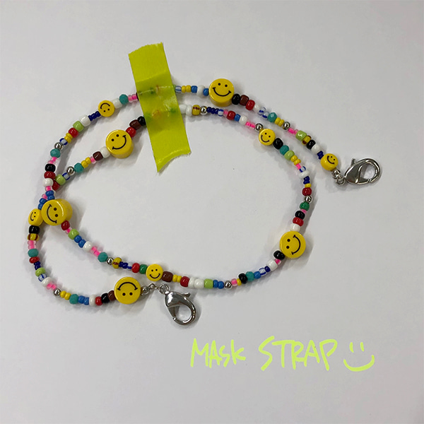 Be Happy Mask Strap_3color